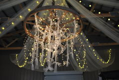 Candeliere casalingo Fotografia Stock