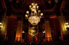 Candeliere ciondolante Fotografia Stock