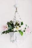 Candeliere dei fiori Fotografia Stock