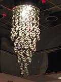 Candeliere delle sfere di cristallo Immagini Stock