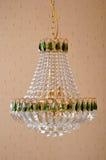 Candeliere di cristallo di illuminazione Immagini Stock Libere da Diritti