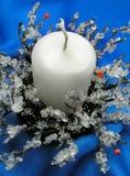 Candeliere di natale Fotografie Stock