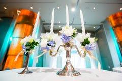 Candeliere di nozze Fotografia Stock