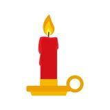 Candeliere piano dell'icona Immagini Stock Libere da Diritti
