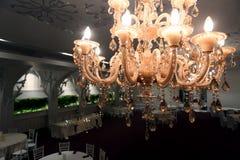 Candeliere, primo piano immagini stock