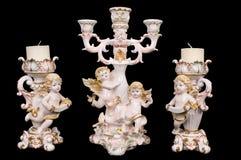 Candeliere in un retro stile. Fotografia Stock Libera da Diritti