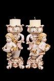 Candeliere in un retro stile. Fotografia Stock