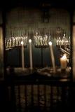 Candels в церков Стоковое Фото