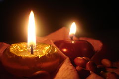 Candels Royalty Free Stock Photo