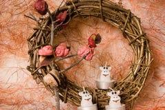 candels bożych narodzeń dekoracja Obrazy Stock