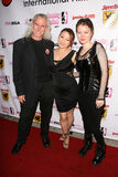 Canden Toy, Reiko Yamaguchi and Stefanie Von Guest at the Boobs and Blood International Film Festival Opening Night, New Beverly C Stock Photos
