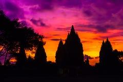 Candi巴兰班南印度寺庙,日惹, Jawa,印度尼西亚 库存图片