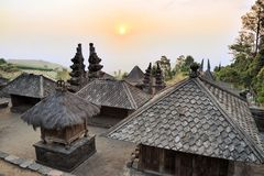Candi Cetho Hindu temple, Java, Indonesia Stock Photos