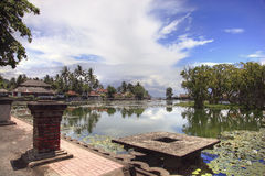 Candi Dasa östliga Bali, Indonesien fotografering för bildbyråer