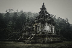 Candi Gedong Songo Photographie stock libre de droits