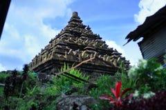 Candi Ijo/templo del verde foto de archivo libre de regalías