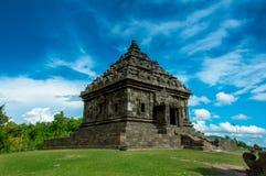 Candi Ijo Yogyakarta Arkivbild