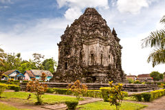 Candi Kalasan buddhist temple in Prambanan valley on  Java. Indo Royalty Free Stock Photo