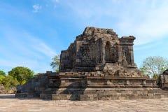Candi Lumbung buddhist temple Stock Image