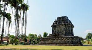Candi Mendut Temple em Yogyakarta Imagem de Stock