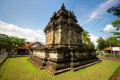 Candi Pawon, Yogyakarta, Indonesien. stockfotografie