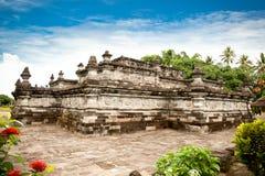 Candi Penataran tempel i Blitar, East Java, Idonesia. royaltyfri fotografi