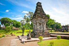 Candi Penataran tempel i Blitar, Indonesien. Arkivfoton