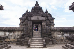 Candi Plaosan σε Yogyakarta, Ινδονησία στοκ εικόνα με δικαίωμα ελεύθερης χρήσης