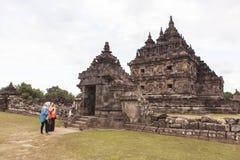 Candi Plaosan σε Yogyakarta, Ινδονησία στοκ φωτογραφίες με δικαίωμα ελεύθερης χρήσης
