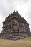 Candi Plaosan σε Yogyakarta, Ινδονησία στοκ εικόνες