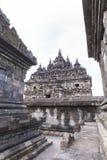 Candi Plaosan в Yogyakarta, Индонезии Стоковое фото RF