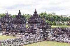 Candi Plaosan в Yogyakarta, Индонезии Стоковые Фото