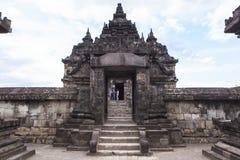 Candi Plaosan em Yogyakarta, Indonésia imagem de stock royalty free