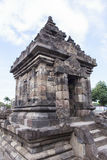 Candi Plaosan em Yogyakarta, Indonésia Imagens de Stock Royalty Free