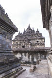 Candi Plaosan en Yogyakarta, Indonesia Foto de archivo libre de regalías