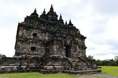 Candi Plaosan historic buddhist temple Royalty Free Stock Photos