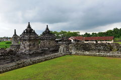 Candi Plaosan historic buddhist temple Royalty Free Stock Image