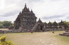 Candi Plaosan in Yogyakarta, Indonesien Lizenzfreie Stockbilder