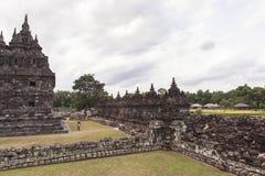 Candi Plaosan in Yogyakarta, Indonesien Lizenzfreie Stockfotografie