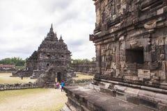 Candi Plaosan in Yogyakarta, Indonesien Stockfoto