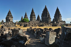 Candi Prambanan Royaltyfria Bilder