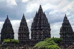 Candi Prambanan 免版税库存图片