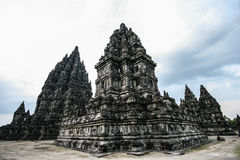 Candi Prambanan  in  Central Java Royalty Free Stock Images