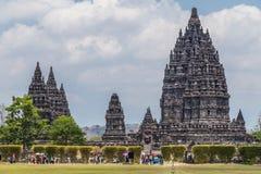 Candi Rara Jonggrang, part of Prambanan Hindu temple,  Indonesia Stock Photography