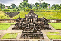 Candi Sambisari the underground hindu temple , Java, indonesia. Stock Photo