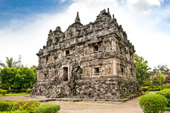 Candi Sari  buddhist temple  on Java. Indonesia. Stock Image