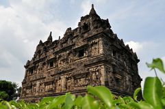Candi Sari Buddhist temple Yogyakarta, Indonesia Royalty Free Stock Images