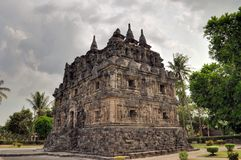 Candi Sari Buddhist temple Yogyakarta, Indonesia Royalty Free Stock Photo