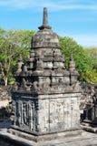 Candi Sewu Buddhist complex in Java, Indonesia Stock Photos