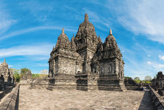 Candi Sewu Buddhist complex in Java, Indonesia Royalty Free Stock Images